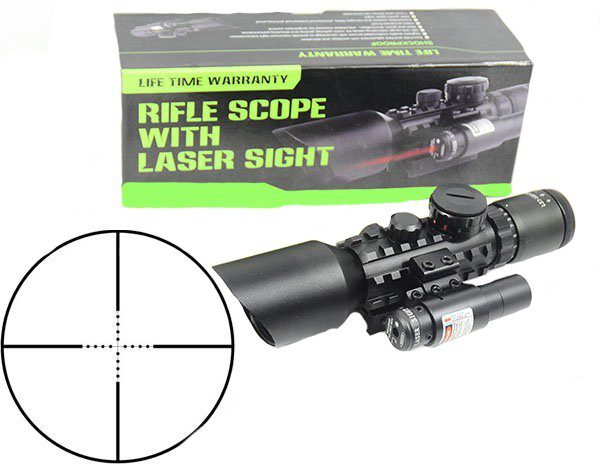 Luneta profesionala cu laser M9 LS3-10x42E Rifle Scope