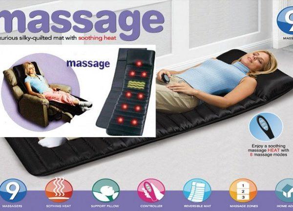 produse noi calde serviciu bun Pantofi 2018 Saltea cu masaj si incalzire infrarosu Massage 9   Pretu Direct